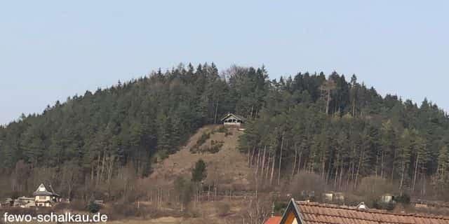 Galgenberg Schalkau im Frühling