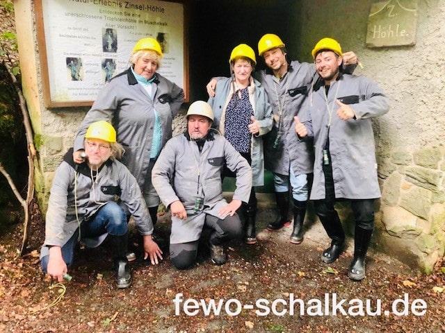 Eingang zur Zinselhöhle in Meschenbach - Besuch für Touristen geöffnet nach Absprache